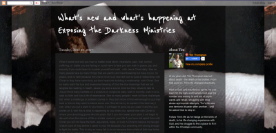 Pastor Tim Thompson Blogsite